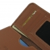 ZTE Blade V7 / Small Fresh 4 Leather Wallet Sleeve Case (Brown) genuine leather case by PDair