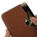 Asus Zenfone 3 Deluxe Leather Wallet Sleeve Case (Brown) top quality leather case by PDair