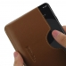 Google Pixel 3 XL Leather Wallet Sleeve Case (Brown) handmade leather case by PDair