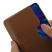 Huawei Enjoy 9e Leather Wallet Sleeve Case (Brown) handmade leather case by PDair