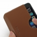 iPhone 8 Plus Leather Wallet Sleeve Case (Brown) top quality leather case by PDair