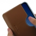 iPhone XR Leather Wallet Sleeve Case (Brown) handmade leather case by PDair