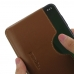 Motorola Moto G7 Plus Leather Wallet Sleeve Case (Brown) handmade leather case by PDair
