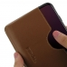 OnePlus 6T Leather Wallet Sleeve Case (Brown) handmade leather case by PDair