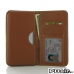 Pepsi Phone P1 P1s Leather Wallet Sleeve Case (Brown) best cellphone case by PDair