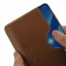 Huawei Honor 8X Leather Wallet Sleeve Case (Brown) handmade leather case by PDair