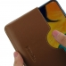 Samsung Galaxy A30 Leather Wallet Sleeve Case (Brown) handmade leather case by PDair