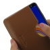 Samsung Galaxy J4 Core Leather Wallet Sleeve Case (Brown) handmade leather case by PDair