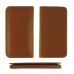 Samsung Galaxy Note 8 Leather Wallet Sleeve Case (Brown) protective carrying case by PDair