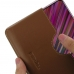 ViVO V15 Leather Wallet Sleeve Case (Brown) handmade leather case by PDair