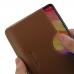 Xiaomi Redmi Note 7 Pro Leather Wallet Sleeve Case (Brown) handmade leather case by PDair
