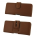 Sony Xperia 10 Plus Leather Holster Case (Brown) protective carrying case by PDair