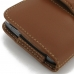 Moto X Play Leather Holster Case (Brown) top quality leather case by PDair