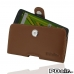 Moto X Play Leather Holster Case (Brown) custom degsined carrying case by PDair