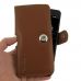 Huawei P10 Plus Leather Holster Case (Brown)  handmade leather case by PDair