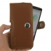 LG G4 Stylus Leather Holster Case (Brown) genuine leather case by PDair