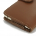 LG G4 Stylus Leather Holster Case (Brown) top quality leather case by PDair