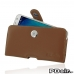 Samsung Galaxy J7 Leather Holster Case (Brown) custom degsined carrying case by PDair