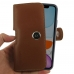 iPhone 11 (in Slim Cover) Holster Case (Brown) handmade leather case by PDair