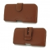 LG V20 Leather Holster Case (Brown) protective carrying case by PDair