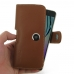 Samsung Galaxy A5 2016 Leather Holster Case (Brown) genuine leather case by PDair