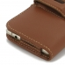 Samsung Galaxy A5 2016 Leather Holster Case (Brown) top quality leather case by PDair