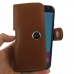 Samsung Galaxy J3 (2017) Leather Holster Case (Brown) handmade leather case by PDair