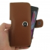Sony Xperia X Leather Holster Case (Brown) genuine leather case by PDair