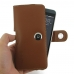 HTC Desire 530 630 Leather Holster Case (Brown) genuine leather case by PDair