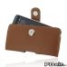 HTC Desire 530 630 Leather Holster Case (Brown) custom degsined carrying case by PDair