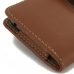 HTC One A9 Leather Holster Case (Brown) top quality leather case by PDair