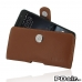 HTC One A9 Leather Holster Case (Brown) custom degsined carrying case by PDair