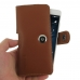 Huawei P9 Leather Holster Case (Brown) genuine leather case by PDair