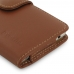 Huawei P9 Leather Holster Case (Brown) top quality leather case by PDair