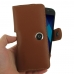 Samsung-Galaxy-A5-2017-Leather-Holster-Case-Brown handmade leather case by Pdair