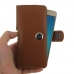 Samsung Galaxy J5 2016 Leather Holster Case (Brown) genuine leather case by PDair