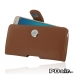 Samsung Galaxy J5 2016 Leather Holster Case (Brown) custom degsined carrying case by PDair