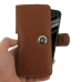 Samsung Galaxy C5 Leather Holster Case (Brown) genuine leather case by PDair
