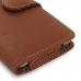 Samsung Galaxy C5 Leather Holster Case (Brown) top quality leather case by PDair