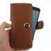 ZTE Blade V7 / Small Fresh 4 Leather Holster Case (Brown) genuine leather case by PDair