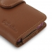 iPhone SE (in Slim Cover) Holster Case (Brown) top quality leather case by PDair