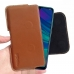 Huawei Enjoy 9s Leather Holster Pouch Case (Brown) handmade leather case by PDair
