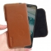 Motorola One | P30 Play Leather Holster Pouch Case (Brown) handmade leather case by PDair
