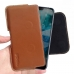 Nokia 7.1 Leather Holster Pouch Case (Brown) handmade leather case by PDair