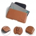 Samsung Galaxy Note 10 5G Leather Holster Pouch Case (Brown) protective carrying case by PDair