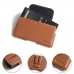 BlackBerry KEY2 Leather Holster Pouch Case (Brown) protective carrying case by PDair