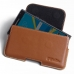BlackBerry Priv Leather Holster Pouch Case (Brown) handmade leather case by PDair