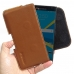 BlackBerry Priv Leather Holster Pouch Case (Brown) genuine leather case by PDair