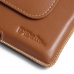 BlackBerry Priv Leather Holster Pouch Case (Brown) offers worldwide free shipping by PDair