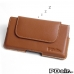 BlackBerry Priv Leather Holster Pouch Case (Brown) best cellphone case by PDair